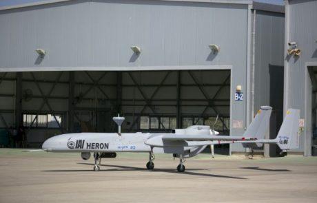 """מל""""ט הרון MK II של התעשייה האווירית ייחשף בסלון האווירי בסינגפור"""