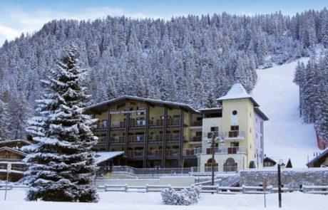 פורים באתר הסקי האיטלקי היוקרתי מדונה די קמפיליו