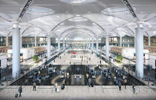 נמל התעופה הגדול בעולם הושק אמש באיסטנבול