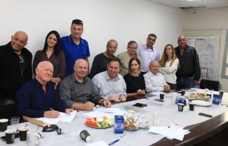 נחתם הסכם קיבוצי בחברת אל אופ מקבוצת אלביט מערכות