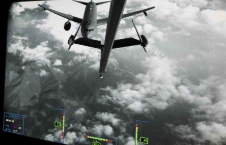 לראשונה: תדלוק בין שני מטוסי תידלוק בואינג KC-46A