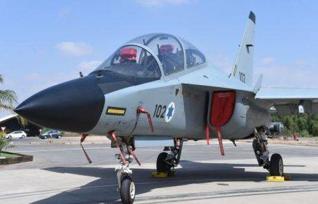 מטוס האימונים M346 ה-30 התקבל בחיל האוויר