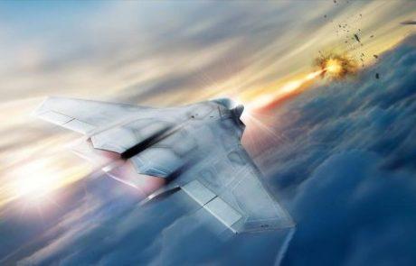 לוקהיד מרטין תפתח לייזר רב עוצמה למטוסי קרב