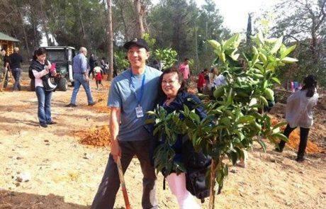 ביקור נדיר של משלחת ממלזיה בשומרון