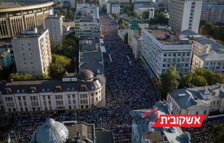 חג הקרבן המוסלמי  2014 במרכז מוסקבה