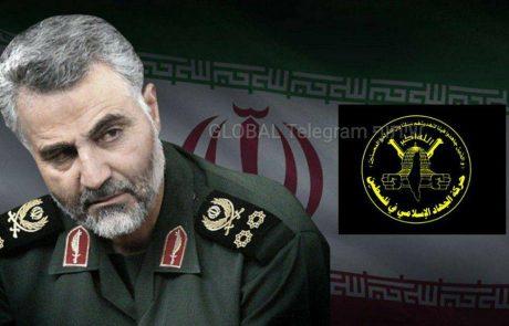 קאסם סולימאני מפקד משמרות המהפכה האירנית חוסל בתקיפה אמריקאית