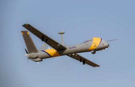 """אלביט משיקה מל""""ט המסוגל לפעול במרחב טיסה אזרחי"""
