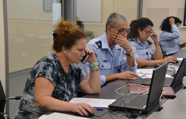 המשטרה נערכת לקראת הבחירות לכנסת ה-22 מחר