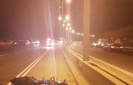 הרוג בתאונת דרכים סמוך לאריאל
