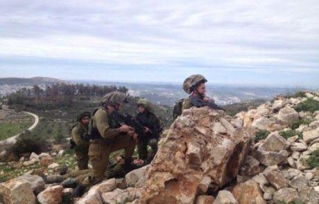 חטיבת שומרון מתרגלת  התמודדות עם  טרור