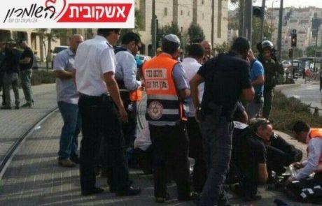 נער בן  13פצוע אנוש  בשכונת פסגת זאב בירושלים