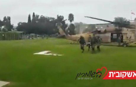 """שני לוחמי קרק""""ל נפצעו מירי בגבול ישראל מצריים"""
