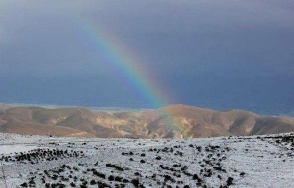 השבוע צפויים שלגים בהרי המרכז