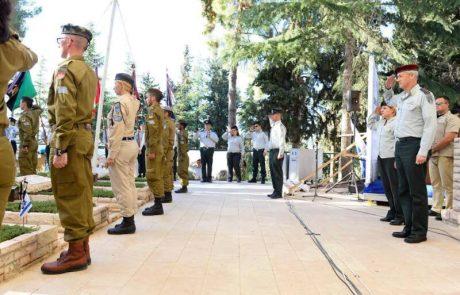 דגלון לנופל על קבריהם של חללי מערכות ישראל