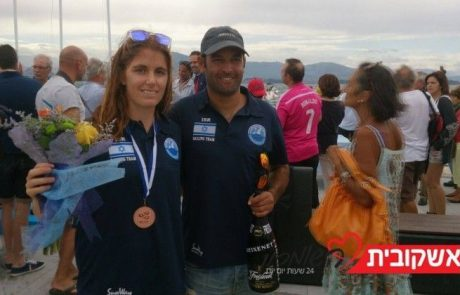 מדליית ארד למעיין דוידוביץ באליפות העולם בשייט