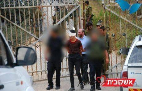 נעצר מחבל חמוש באקדח מאולתר