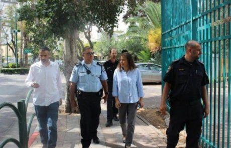עיריית רמת-השרון מתגייסת להגברת הביטחון