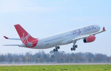 הנוסע המבוגר ביותר בטיסת וירג'ין אטלנטיק ישודרג למחלקת Upper Class