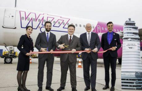 Wizz Air חנכה את הבסיס החדש שלה בווינה
